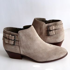 NWOB SAM EDELMAN PETTY SUEDE ANKLE BOOTS